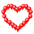 Heart balloon Royalty Free Stock Photos