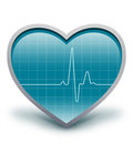 Heart beats Royalty Free Stock Photo