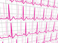 Heart beats cardiogram. EPS 8 Royalty Free Stock Photography