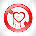 Heart bleed openssl bug virus bleeding heart restricted vector eps i have created heartbleed concept Royalty Free Stock Image