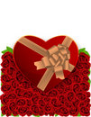 Heart box Royalty Free Stock Images