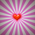 Heart burst Royalty Free Stock Photography