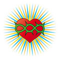 Heart, a Christian symbol Stock Photography