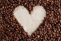 Heart of Coffee Royalty Free Stock Images