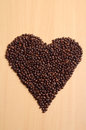Heart coffee Royalty Free Stock Photos