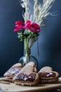 Heart Cookies, Dark Background...