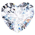 Heart diamond Stock Photo
