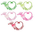 Heart Frames Stock Images