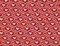 Heart graphics pattern hearts seamless background for your design Stock Photo