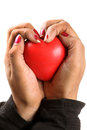 Heart in hand Royalty Free Stock Photos