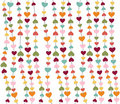 Heart icons, valentine's day, card, wallpaper Royalty Free Stock Photo