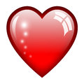 Heart illustration Royalty Free Stock Image