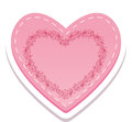 Heart illustration of nice love Royalty Free Stock Photo