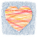 Heart illustration of the symbol of a Royalty Free Stock Images