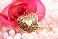 Heart Locket Royalty Free Stock Photo