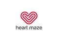 Heart Icon Vector. Love symbol. Valentine&x27;s Day sign, EPS10 pictogram