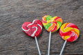 Heart lollipop candy concept love valentine Stock Image