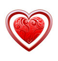 Heart love Royalty Free Stock Image