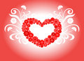 Heart love design Stock Images