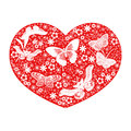 Heart love - heart flowers collection