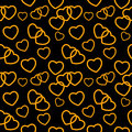 Heart love seamless pattern background vector illustration this is file of eps format Royalty Free Stock Photos