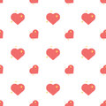 Heart Of Love Spark Seamless Pattern Royalty Free Stock Photo