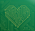 The heart motherboard