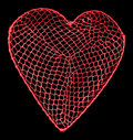 Heart net Stock Photos