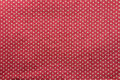 Heart pattern fabric texture on Royalty Free Stock Photo