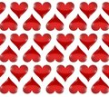 Heart pattern illustration design over a white background Royalty Free Stock Images