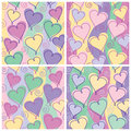 Heart Pattern, Kids Birthday Stock Photos