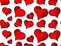 Heart pattern . Abstract art background