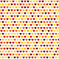 Heart pattern. Vector seamless love background