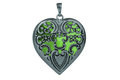 Heart pendent Royalty Free Stock Images