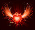 Heart of the phoenix Stock Photo