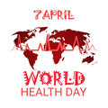 Heart Pulse Health World Day Global Holiday Banner With Copy Space Royalty Free Stock Photo