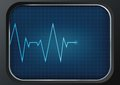 Heart rate icon vector illustration Royalty Free Stock Photo