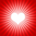 Heart red 01 Royalty Free Stock Photos
