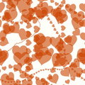 Heart romance valentines background Royalty Free Stock Photos