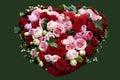 Heart of roses Royalty Free Stock Photo