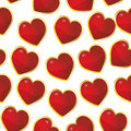 Heart seamless pattern Royalty Free Stock Images