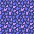Heart seamless pattern. Vector love illustration. Valentine Day, Mother Day. Wedding, scrapbook, gift wrapping paper, textil or