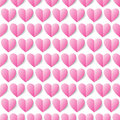 Heart seamless vector background seamless pattern can be used f for wallpapers fills web page backgrounds surface textures Stock Image