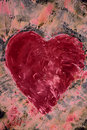 Heart shape background Royalty Free Stock Photos