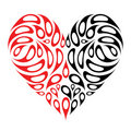 Heart shape design Royalty Free Stock Photography