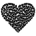 Heart Shape Photo Frame Isolat...