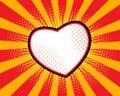 Heart Shape Pop art