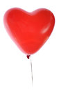Heart shaped balloon Royalty Free Stock Photography