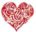 Heart shaped figure
