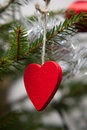 Heart shaped ornament Stock Photo